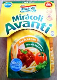 großansicht eines Miracoli Avanti Beutels