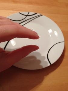Joghurtschnitte aufgegessen