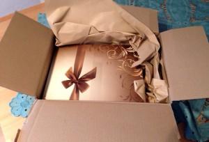 Geöffnetes Paket